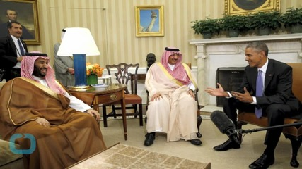 Despite Absence of King Salman Obama Hosts Saudi Princes at White House