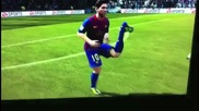 Fifa 12 - Кракът на Messi !