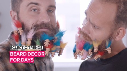 Eclectic Trends: Proof that a decorated beard, is a great beard