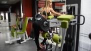 Фитнес упражнения - Задна екстензия на машина