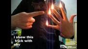 Как Пръстите Ви Да Светят С Огнен Пламък