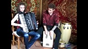 Accordion and Cajon perfomed by J.a.v.a - Russia