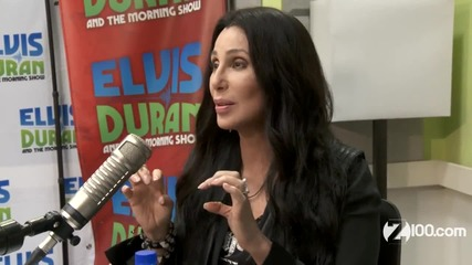Cher in studio Z100 New York Interview (2013)
