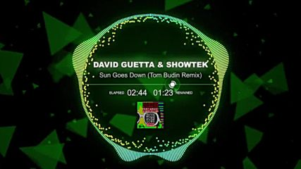 David Guetta & Showtek - Sun Goes Down (tom budin remix)