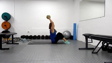 Трениране - Супер ефективна тренировка за корем - Fit Camp
