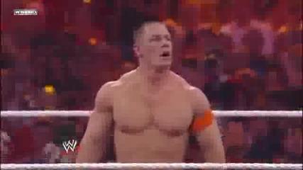 John Cena vs Batista Wrestlemania 26