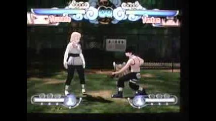 Naruto Clash Of A Ninja - Специалини Джуцута