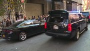 USA: Trump booed as he arrives to vote in NYC