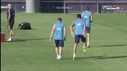 Първа тренивровка на Барселона за сезон 2015/16