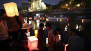 Japan: Thousands mark Hiroshima anniversary with floating lantern ceremony