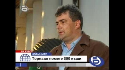 Торнадо Помете 300 Къщи В Северна България
