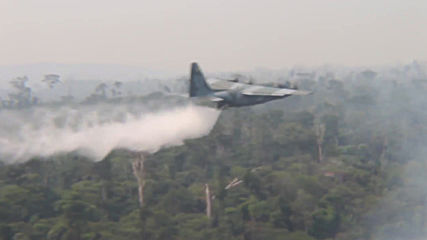 Brazil: Military deployed to fight Amazon rainforest fires in Rondonia