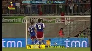 12.08.09 Лихтенщайн 0:3 Португалия *хуго алмейда втори гол*