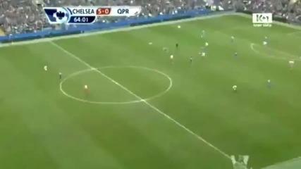 Торес се завърна с Хет-трик Fernando Torres Chelsea 6 - 1 Qpr (goals Hd 29.04.2012)