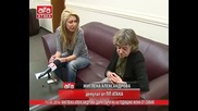 Миглена Александрова дари пари на 68 годишна жена от София