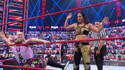 Alexa Bliss & Nikki Cross vs. Nia Jax & Shayna Baszler – Money in the Bank Qualifying Match: Raw, June 21, 2021