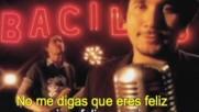 Bacilos - Feliz Conmigo [Karaoke] (Оfficial video)