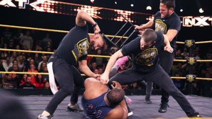 The Undisputed ERA gangs up on Keith Lee: WWE NXT, Jan. 15, 2020