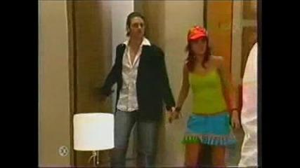 Diego Y Roberta Se Besan Delante De Javier