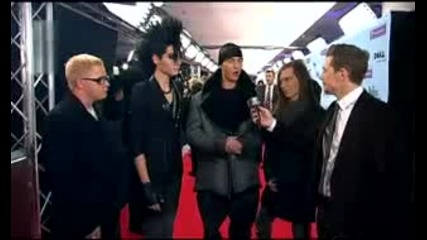 Tokio Hotel Mtv Ema 2009 - red carpet