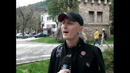 Savov пред камерата на Vtv