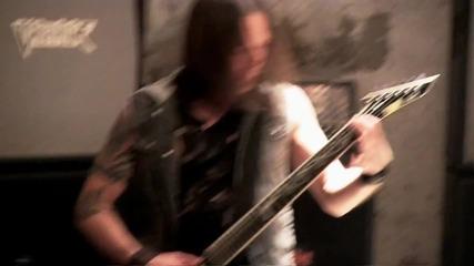 Bullet For My Valentine зад кулисите на видеото към песента им Riot