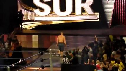 Survivor Series 2010 - John Cena e uvolnen ot Wwe