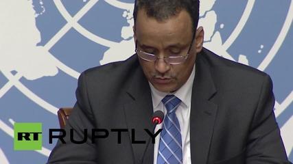 ООН все още е обнадеждено за прекратяване на военните действия в Йемен