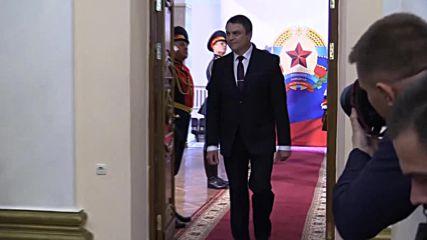 Ukraine: Pasechnik inaugurated as head of Lugansk People's Republic