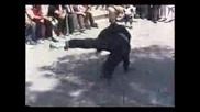 Break Dance in Park Shahanshahi Melat