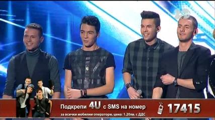 4U - X Factor Live (23.10.2014)