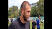 ВИДЕО: Михаил Венков преди мача за Суперкупата с Лудогорец