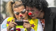 Clowns Brawl With Animal Rights Activists