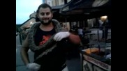 Човекът С Питона- Виктория На Панаира В Град Левски 24.08. 2013