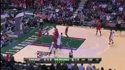 Милуоки Бъкс 88:104 Чикаго Булс (30-01-2013 г.)