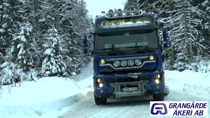 Volvo Fmx 500 6x4 whith Grader Blade