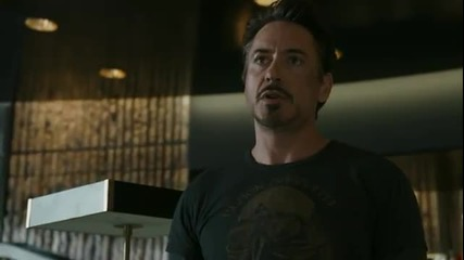 The Avengers (2012) - Six minutes of clips from the Blu-ray including the end