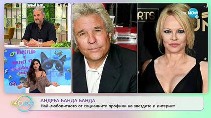 """Андреа Банда Банда - Най-интересното от социалните профили на звездите - """"На кафе"""" (21.02.2020)"""