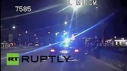 USA: Dashcam shows cops delivering baby after pulling over speeding car
