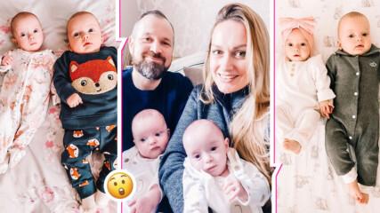 """Жена роди """"супер близнаци"""", заченати с три седмици разлика"""
