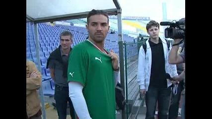 Благой Георгиев и Станислав Ангелов вече тренират на пълни обороти