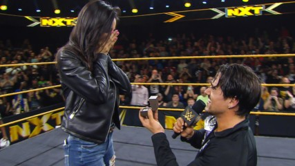 Angel Garza proposes to his girlfriend: WWE.com Exclusive, Dec. 11, 2019
