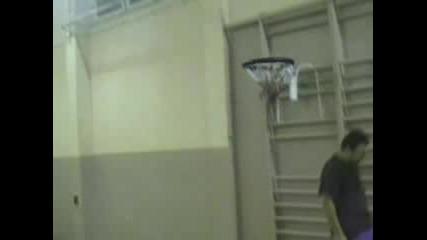 Баскетбол - Забивка