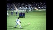 Cristiano Ronaldo Top 5 Free Kicks Fifa 10 (hq)