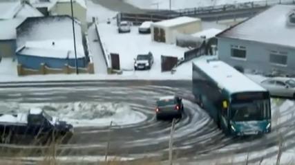 Вижте от къде може да премине един истински шофьор на автобус!
