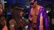 Wwe Raw 03_14_11 Trish Stratus, Snooki & Zack Ryder Backstage Segment
