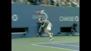 Тенис Класика : Перфектен Брейк На Федерер