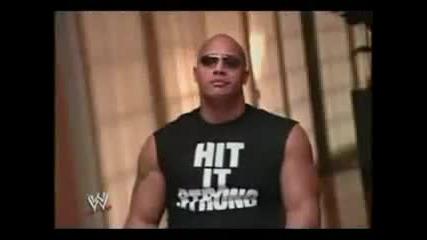 The Rock completely owns Hulk Hogan
