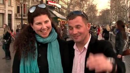 Танци на улицата в Женени от пръв поглед (07.04.2015г.)