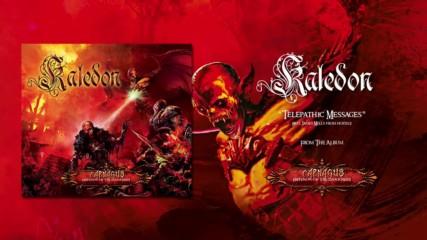 Kaledon feat. James Mills - Telepathic Messages ( Official Audio)